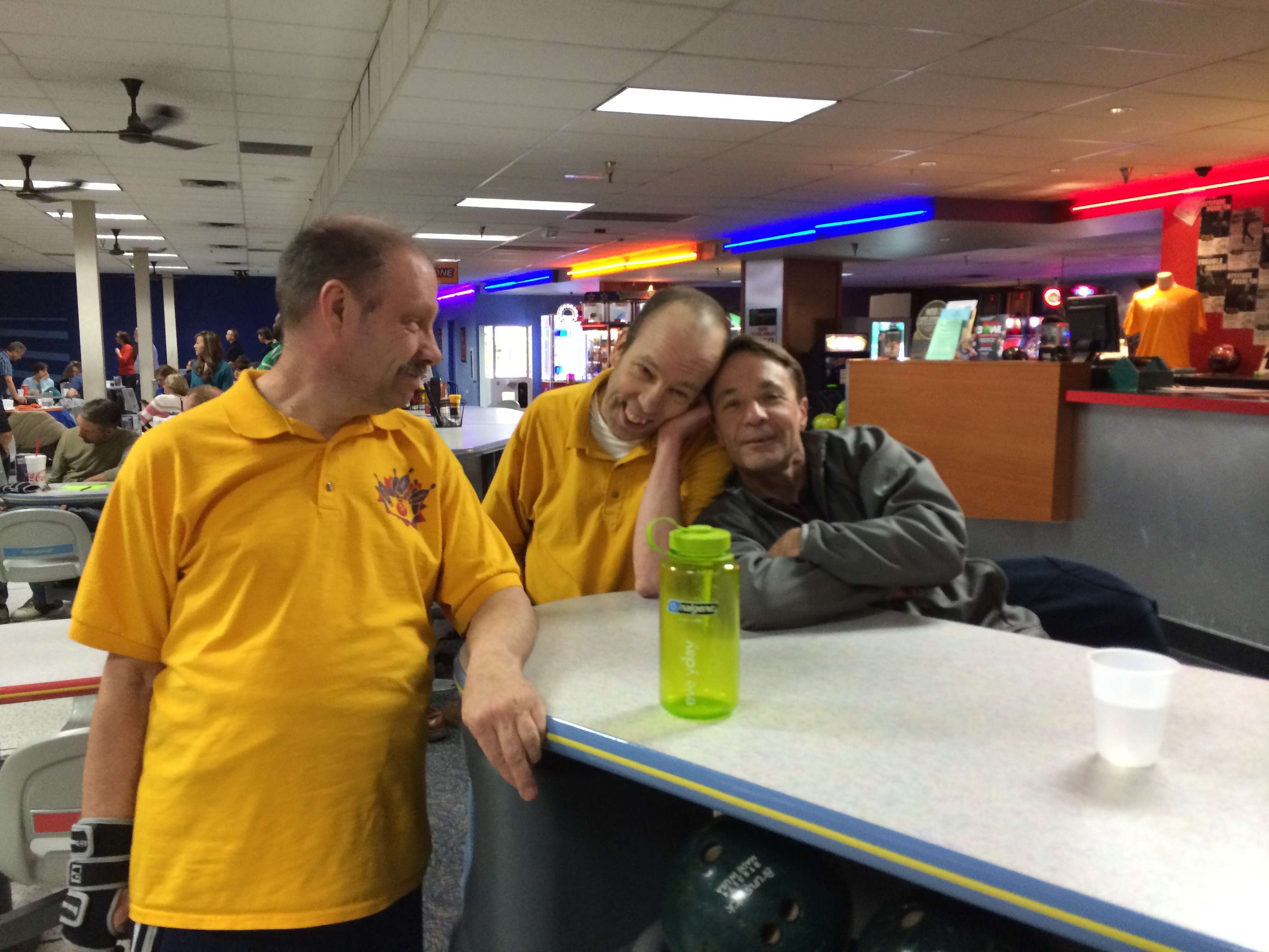 Scott at Bowling alley