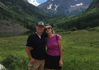 Aspen Music Festival. Ken and Peggy Berry